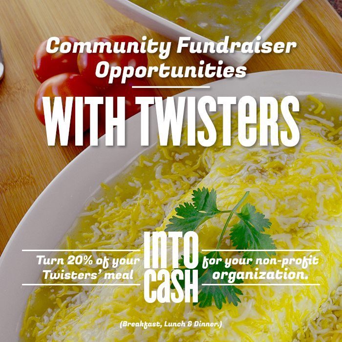 Fundraising with Twisters