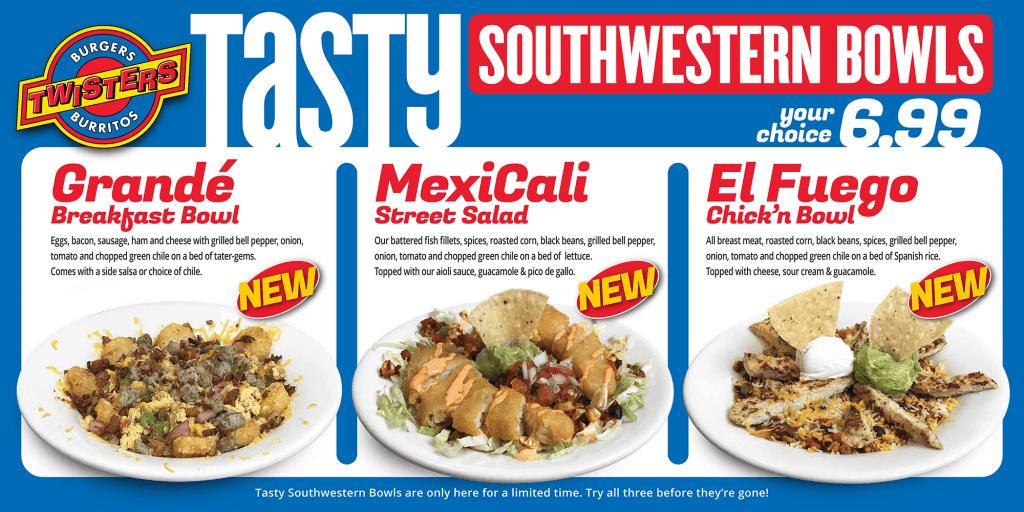 Tasty Southwestern Bowls
