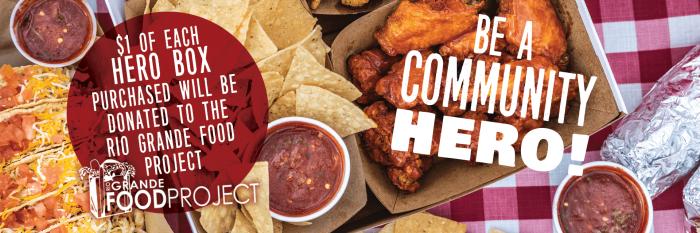 Hero Box - My Twisters Burgers and Burritos - New Mexico, Colorado